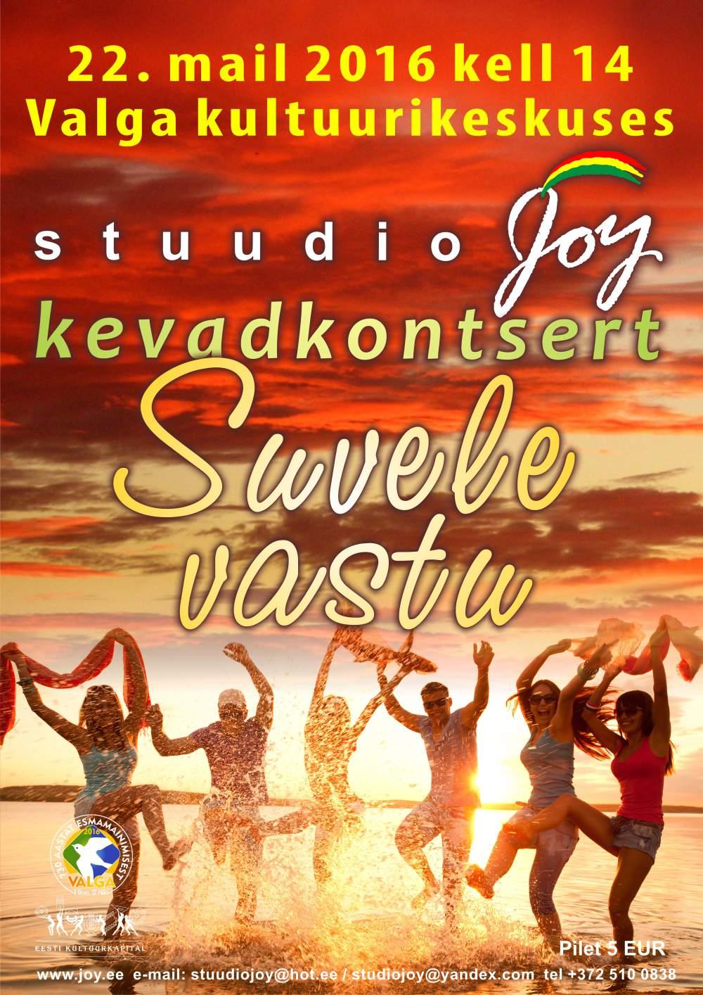 Stuudio 'JOY' Kevadekontsert 2016